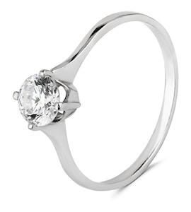 Кольцо с бриллиантом 69609