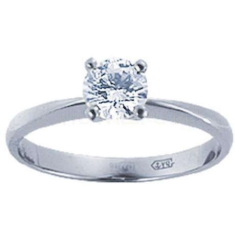 Кольцо с бриллиантом 71431