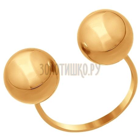 Кольцо из золота 016855