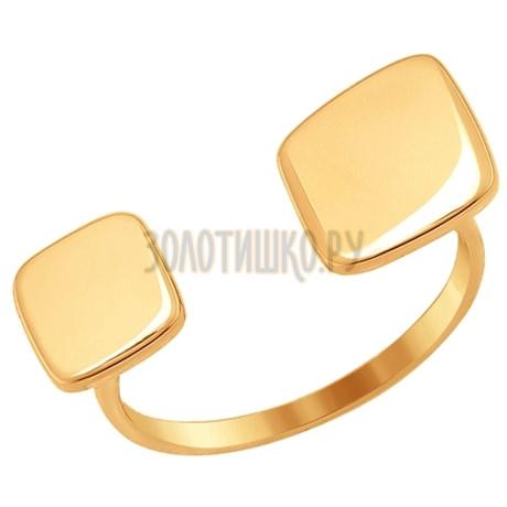 Кольцо из золота 017075