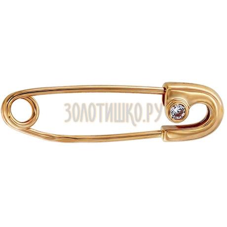 Булавка из золота 040084