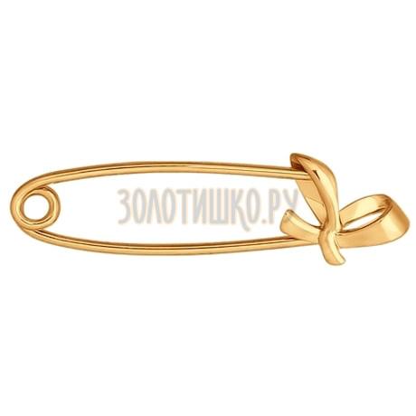 Брошь из золота 040163