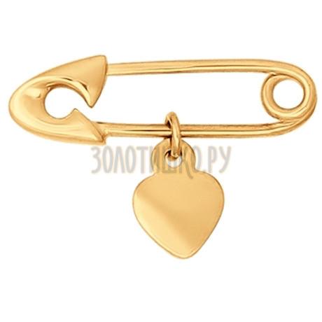Брошь из золота 040164