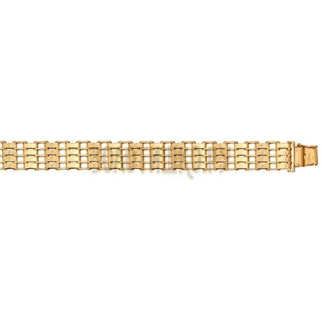 Браслет из золота с алмазной гранью 050633