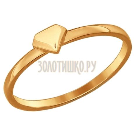 Кольцо из золота 10002-001
