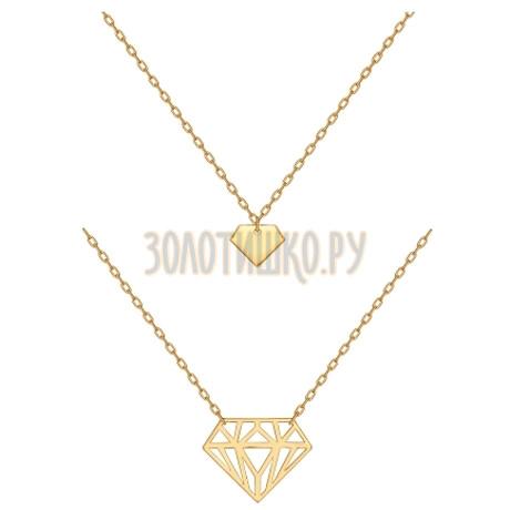 Колье из золота 10033-001