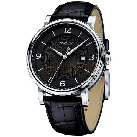 Мужские серебряные часы 101.30.00.000.04.01.3