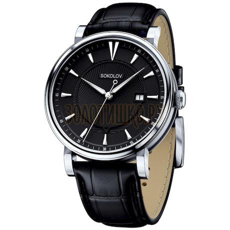 Мужские серебряные часы 101.30.00.000.05.01.3