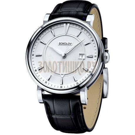 Мужские серебряные часы 101.30.00.000.06.01.3