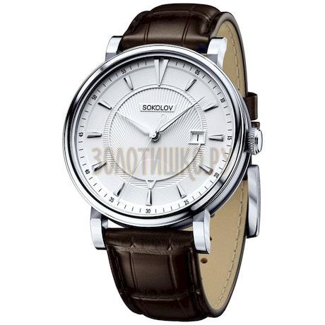 Мужские серебряные часы 101.30.00.000.06.02.3