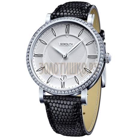 Женские серебряные часы 102.30.00.001.01.01.2