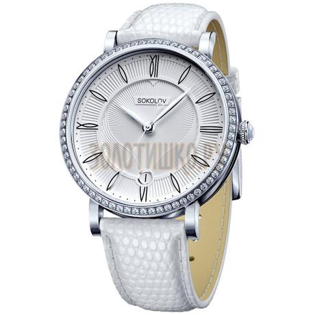 Женские серебряные часы 102.30.00.001.01.02.2