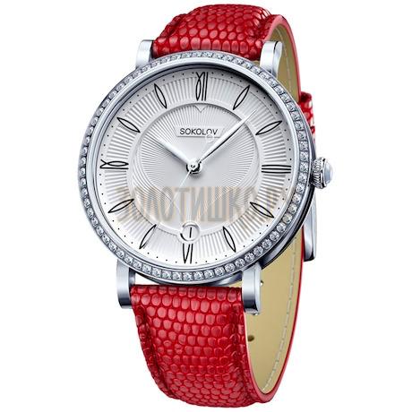 Женские серебряные часы 102.30.00.001.01.03.2