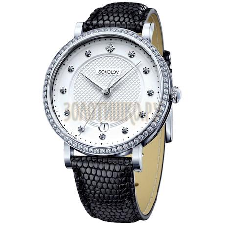 Женские серебряные часы 102.30.00.001.04.01.2