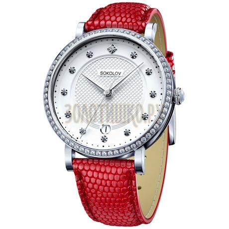 Женские серебряные часы 102.30.00.001.04.03.2