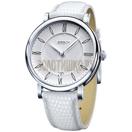 Женские серебряные часы 103.30.00.000.01.02.2