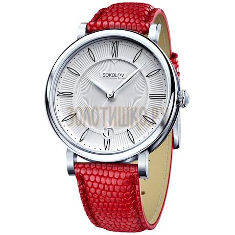 Женские серебряные часы 103.30.00.000.01.03.2