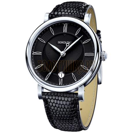 Женские серебряные часы 103.30.00.000.02.01.2