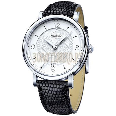 Женские серебряные часы 103.30.00.000.03.01.2