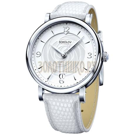 Женские серебряные часы 103.30.00.000.03.02.2