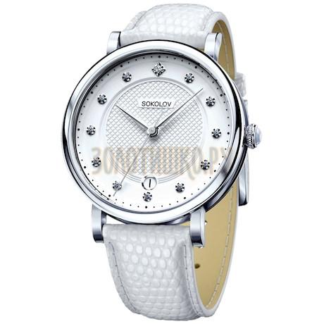 Женские серебряные часы 103.30.00.000.04.02.2