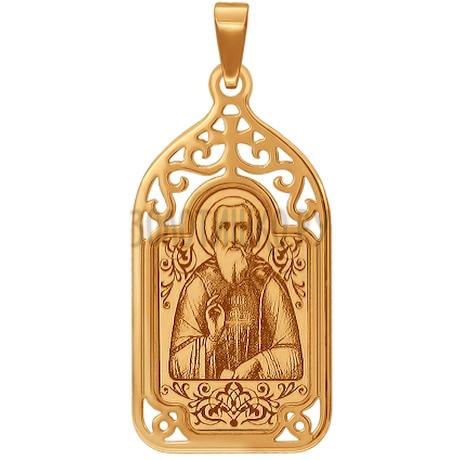 Иконка «Святой Преподобный чудотворец Сергий Радонежский» 103615