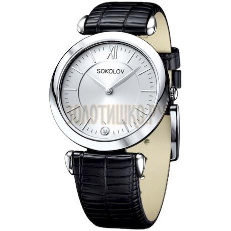 Женские серебряные часы 105.30.00.000.01.01.2