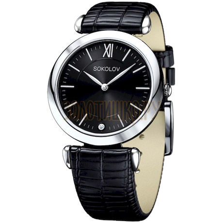 Женские серебряные часы 105.30.00.000.02.01.2