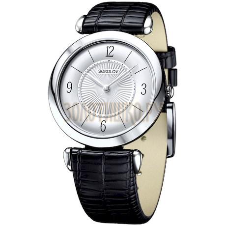 Женские серебряные часы 105.30.00.000.03.01.2