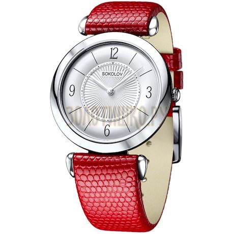 Женские серебряные часы 105.30.00.000.03.03.2