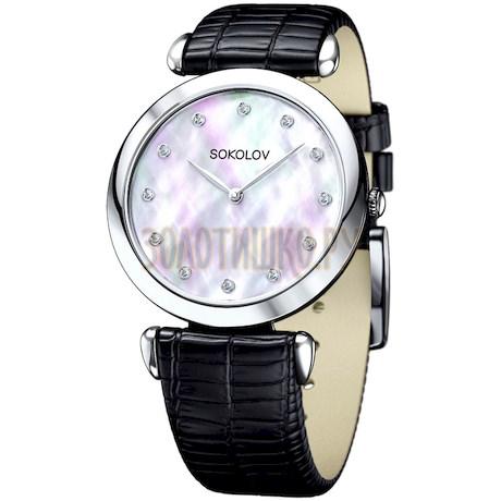 Женские серебряные часы 105.30.00.000.05.01.2