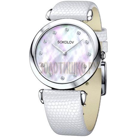 Женские серебряные часы 105.30.00.000.05.02.2