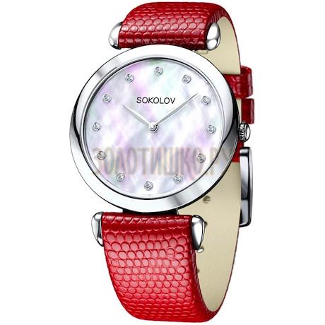 Женские серебряные часы 105.30.00.000.05.03.2