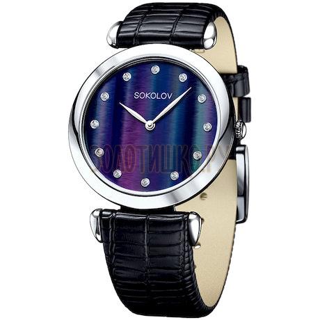 Женские серебряные часы 105.30.00.000.06.01.2