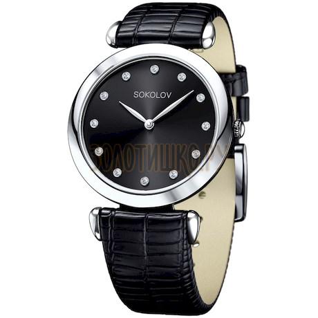 Женские серебряные часы 105.30.00.000.07.01.2