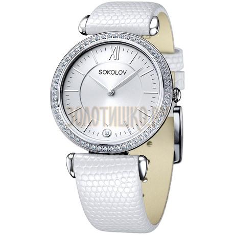 Женские серебряные часы 106.30.00.001.01.02.2