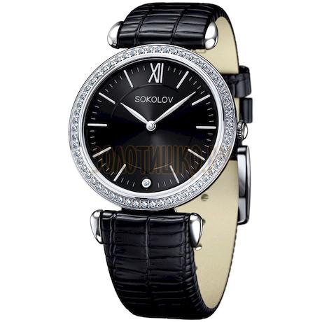 Женские серебряные часы 106.30.00.001.02.01.2