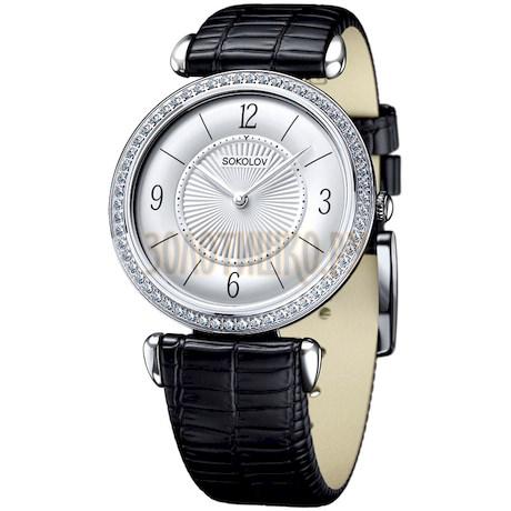 Женские серебряные часы 106.30.00.001.03.01.2
