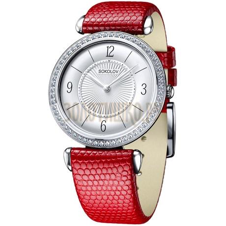 Женские серебряные часы 106.30.00.001.03.03.2