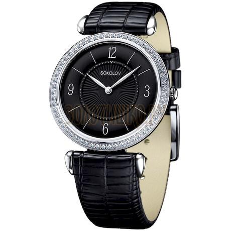 Женские серебряные часы 106.30.00.001.04.01.2