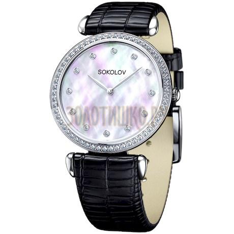 Женские серебряные часы 106.30.00.001.05.01.2