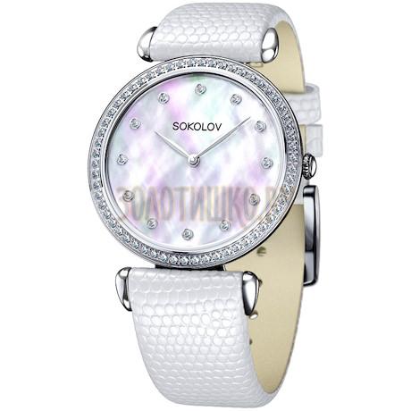 Женские серебряные часы 106.30.00.001.05.02.2