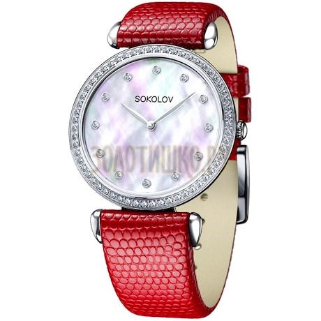 Женские серебряные часы 106.30.00.001.05.03.2