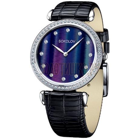 Женские серебряные часы 106.30.00.001.06.01.2