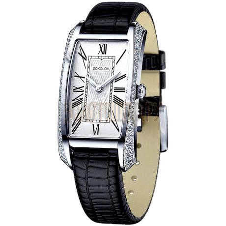 Женские серебряные часы 119.30.00.001.01.01.2