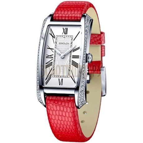 Женские серебряные часы 119.30.00.001.01.03.2