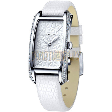 Женские серебряные часы 119.30.00.001.03.02.2