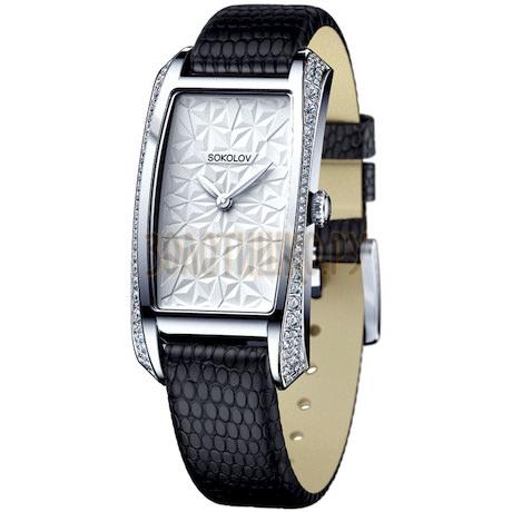 Женские серебряные часы 119.30.00.001.03.04.2