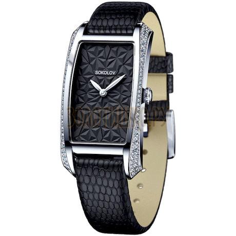 Женские серебряные часы 119.30.00.001.04.04.2