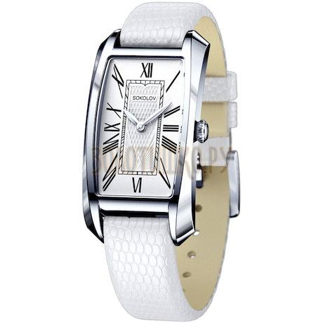Женские серебряные часы 120.30.00.000.01.02.2